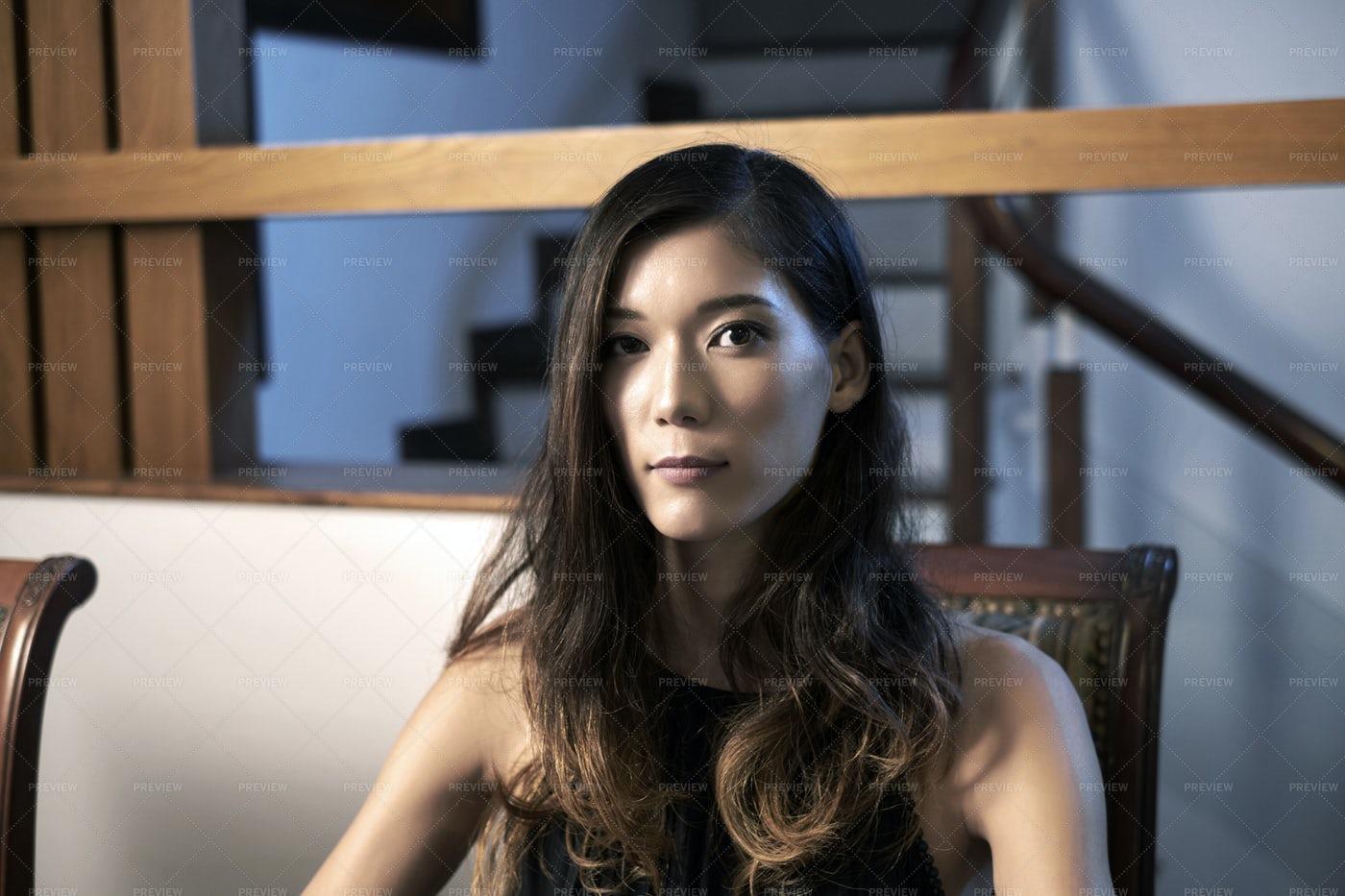 Beautiful Japanese Woman: Stock Photos