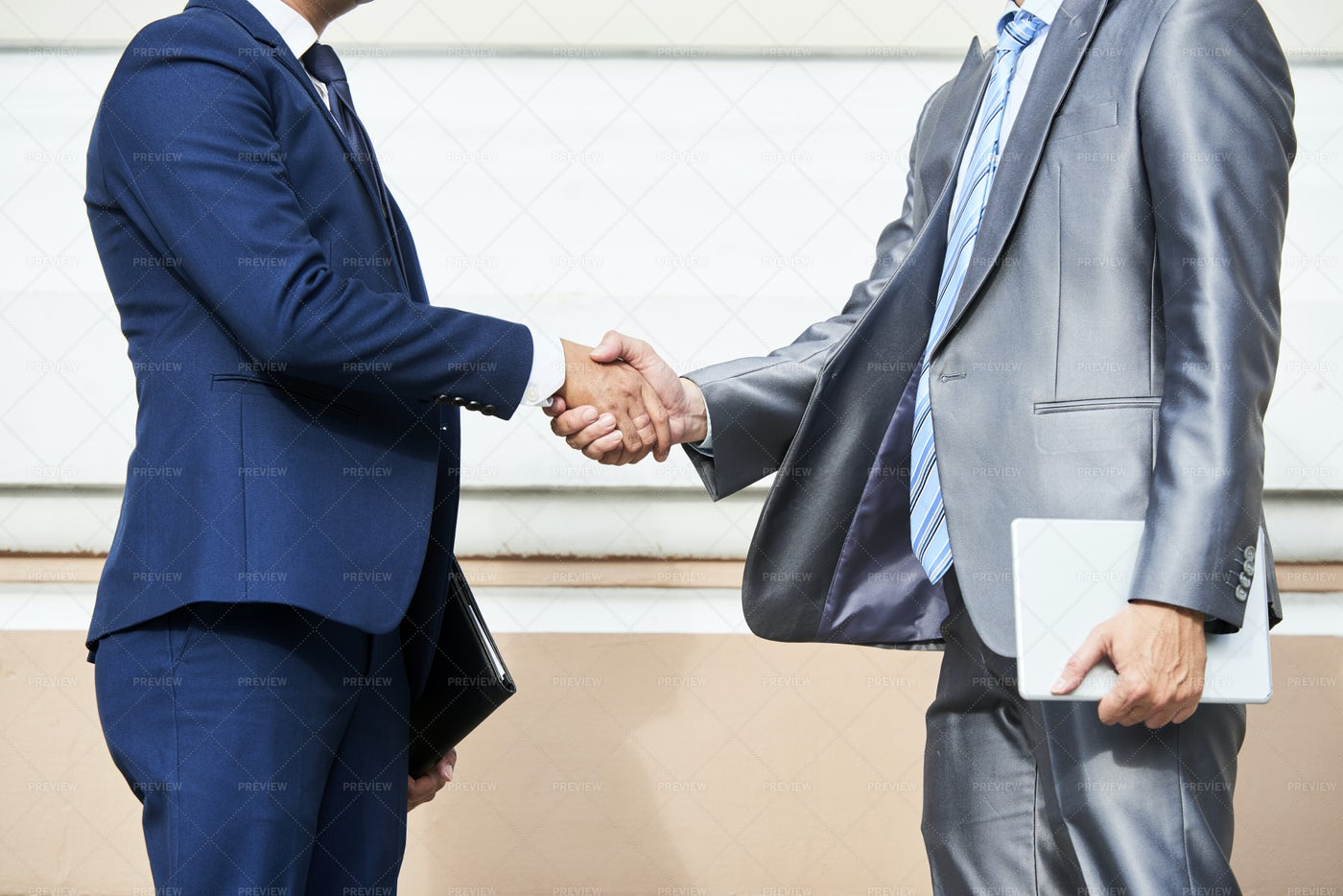 Business Partners Shaking Hands: Stock Photos