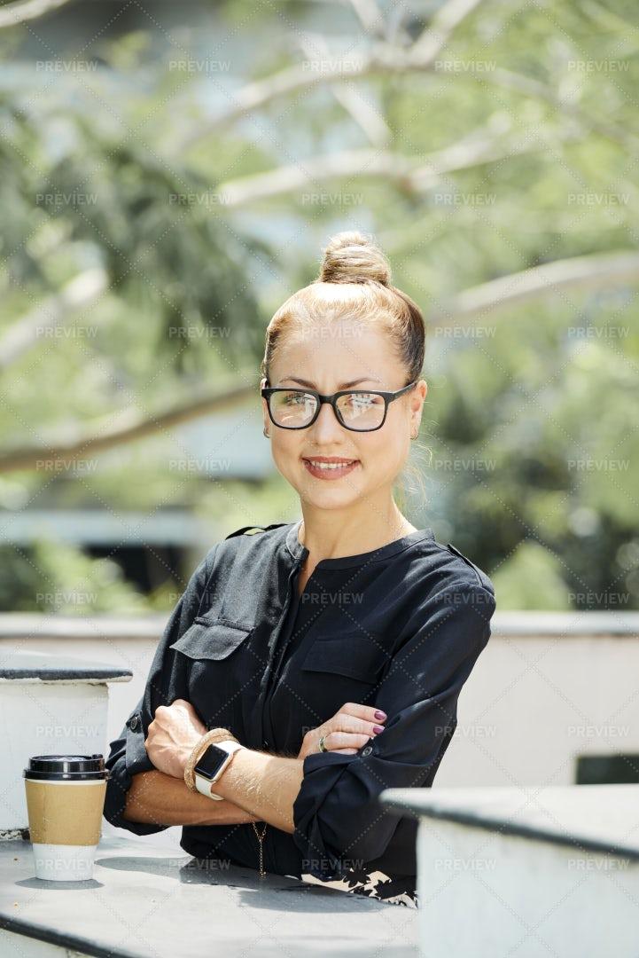 Confident Female Entrepreneur: Stock Photos