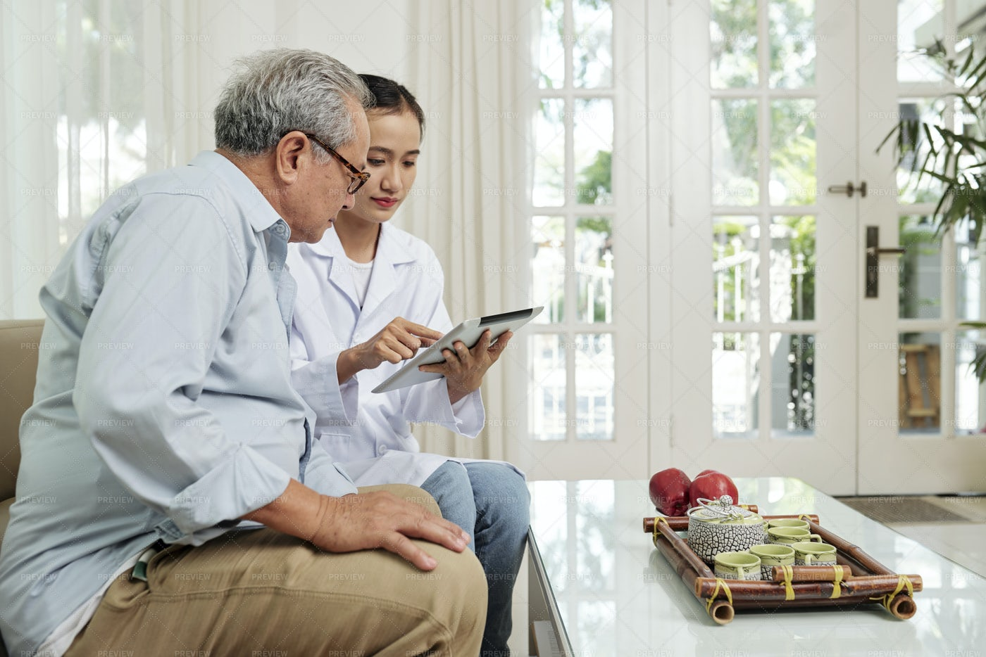 Doctor Appointment Online: Stock Photos