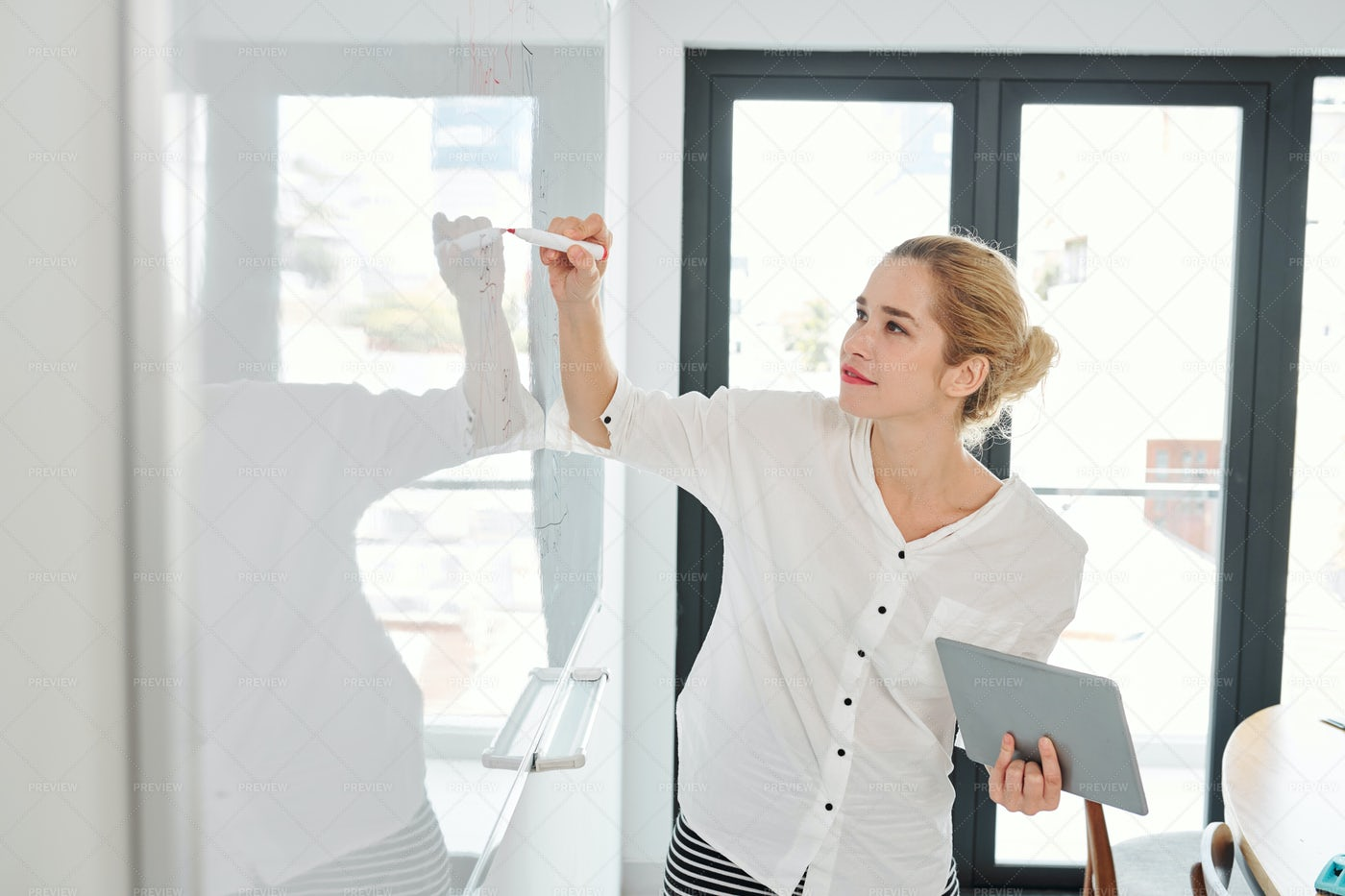 Business Coach At Meeting: Stock Photos