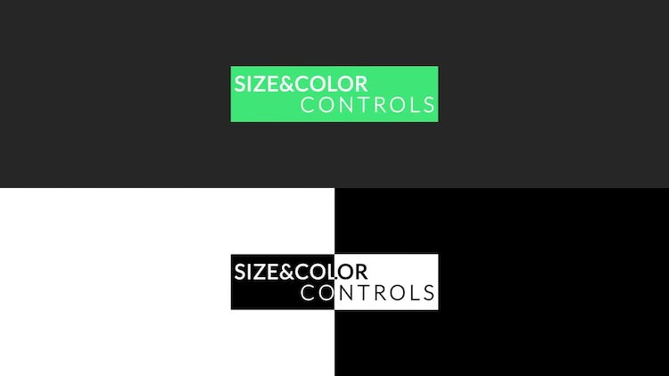 Invert Titles: After Effects Templates