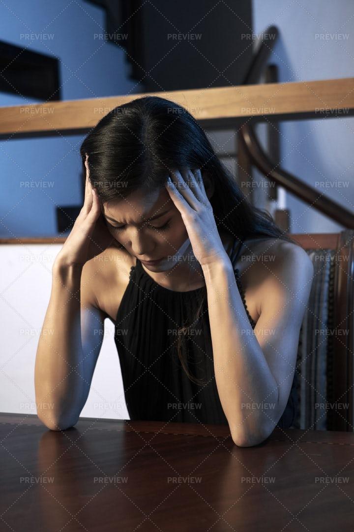 Severe Headache: Stock Photos