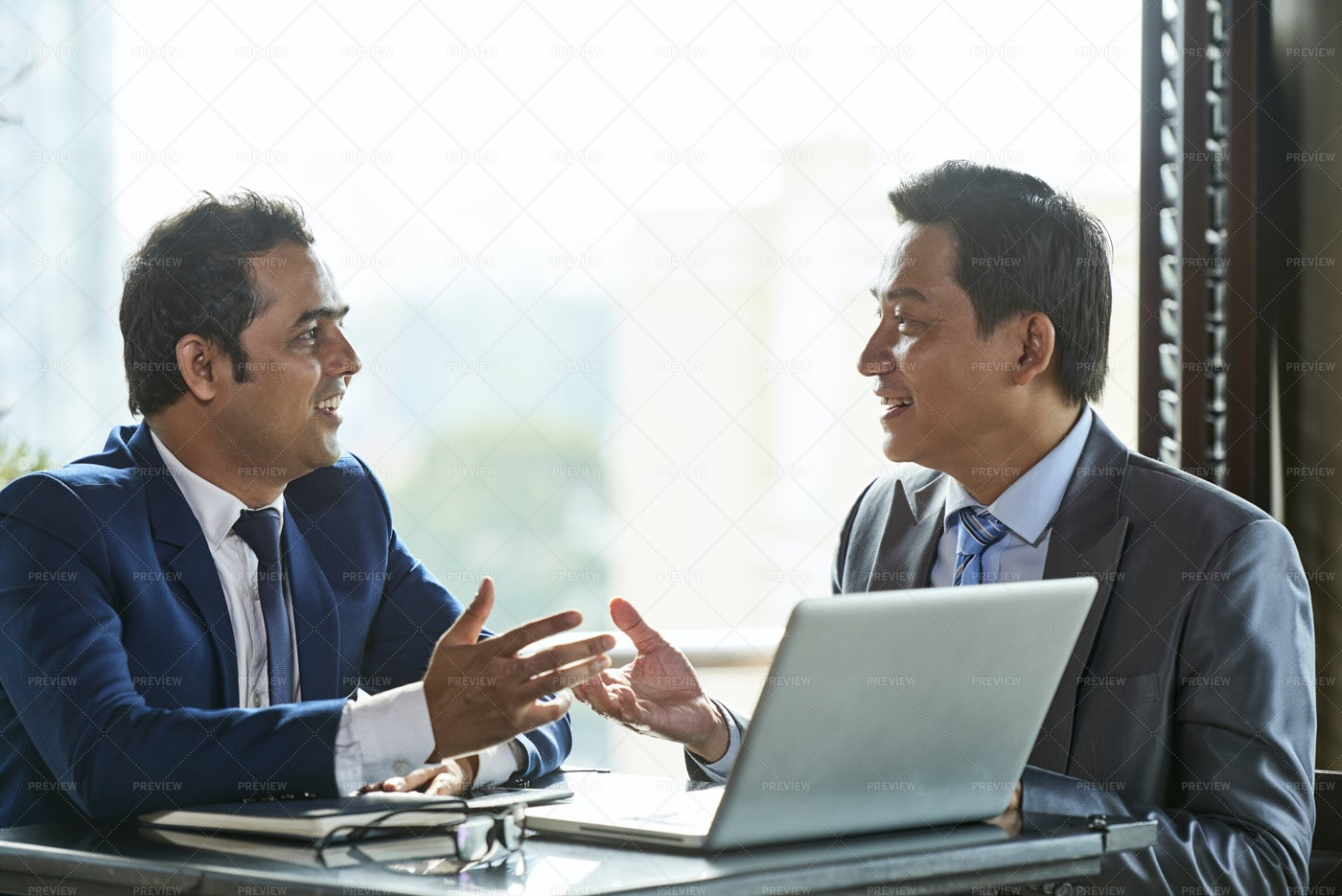Business Leaders Planning Their: Stock Photos