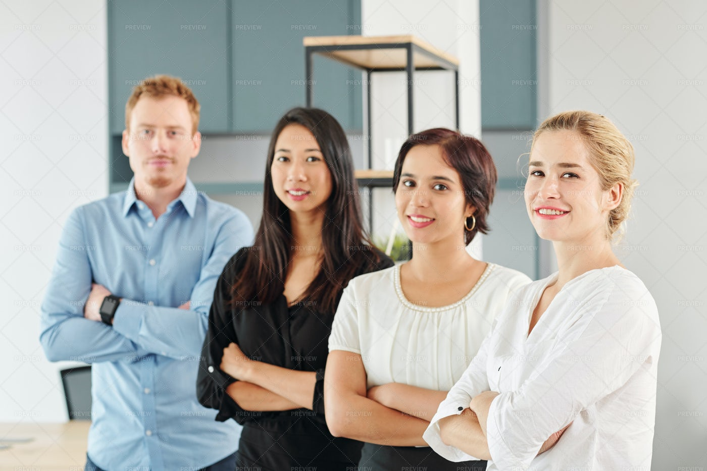 Young Multi-ethnic Business Team: Stock Photos