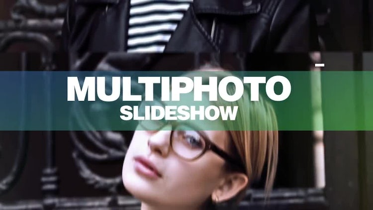 Multiphoto Slideshow: After Effects Templates