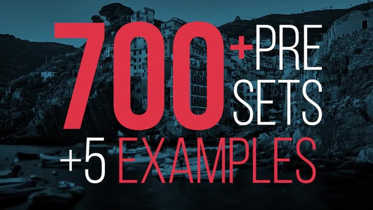 700 Presets Of Nice Transitions: Premiere Pro Templates