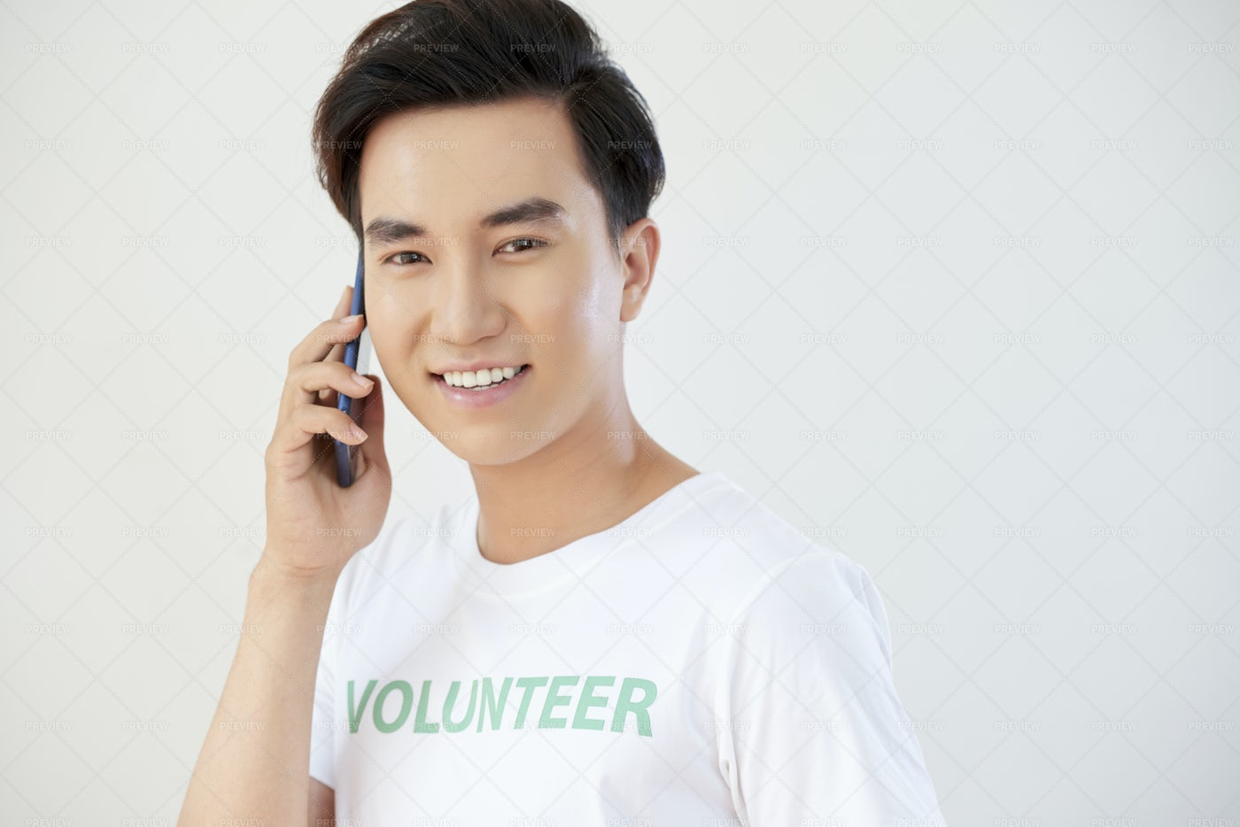 Young Man Talking On The Phone: Stock Photos