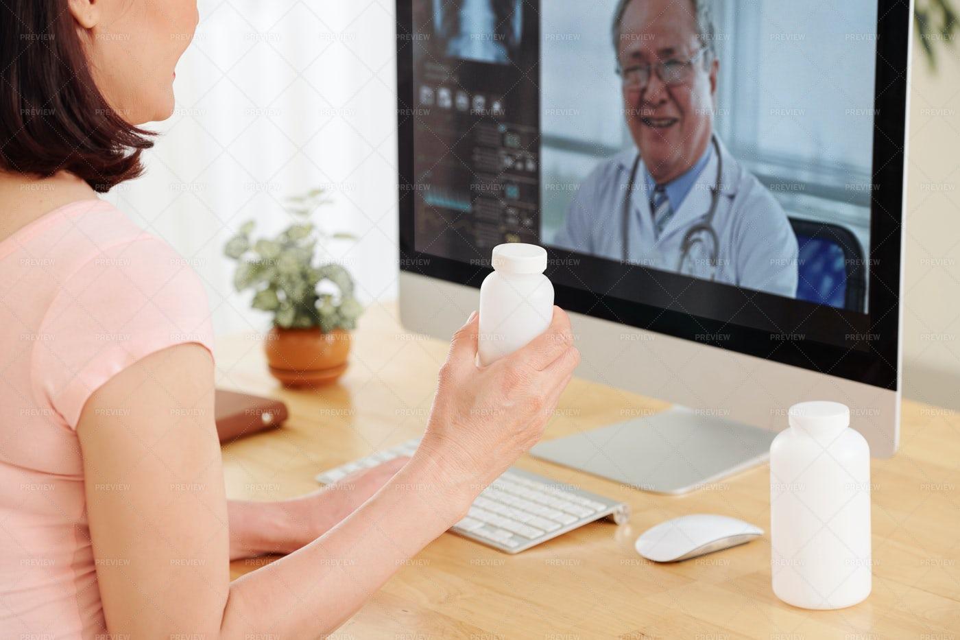 Telemedicine Concept: Stock Photos