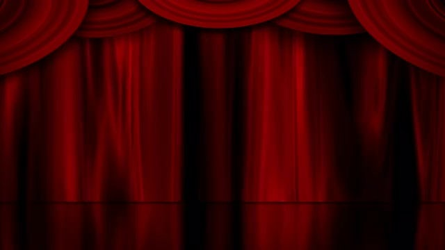 Theater Curtain: Stock Motion Graphics