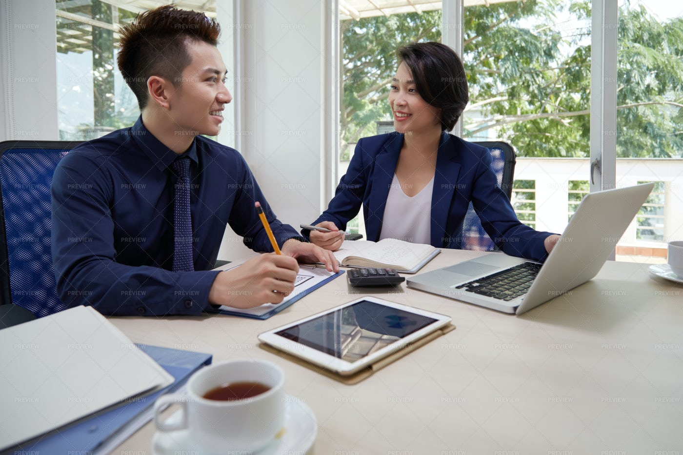 People Working With Business: Stock Photos