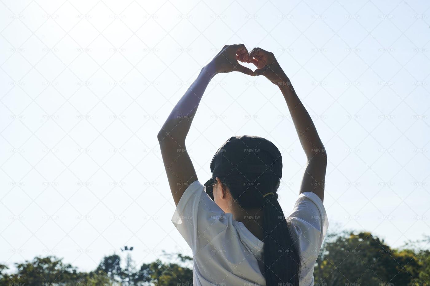 Woman Loves Summer: Stock Photos