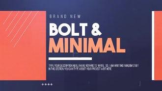 Bolt & Minimal: Premiere Pro Templates