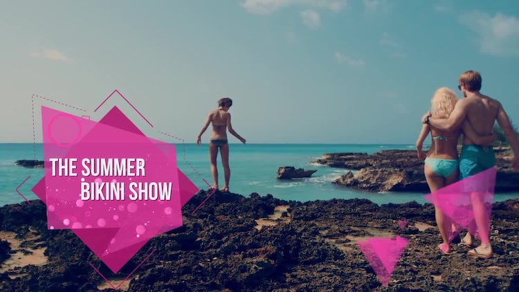 The Summer Slideshow: After Effects Templates