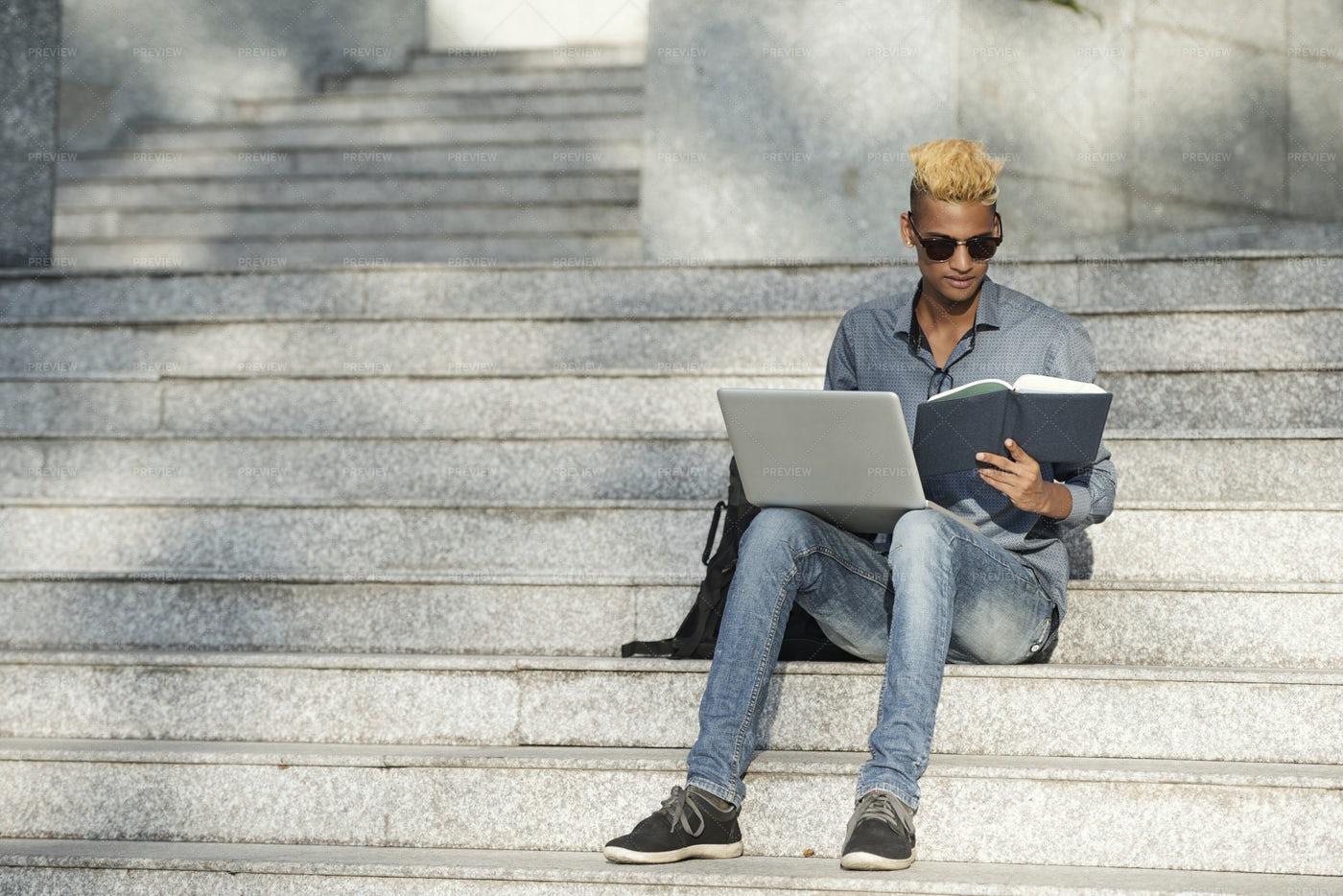 Student Doing Homework: Stock Photos
