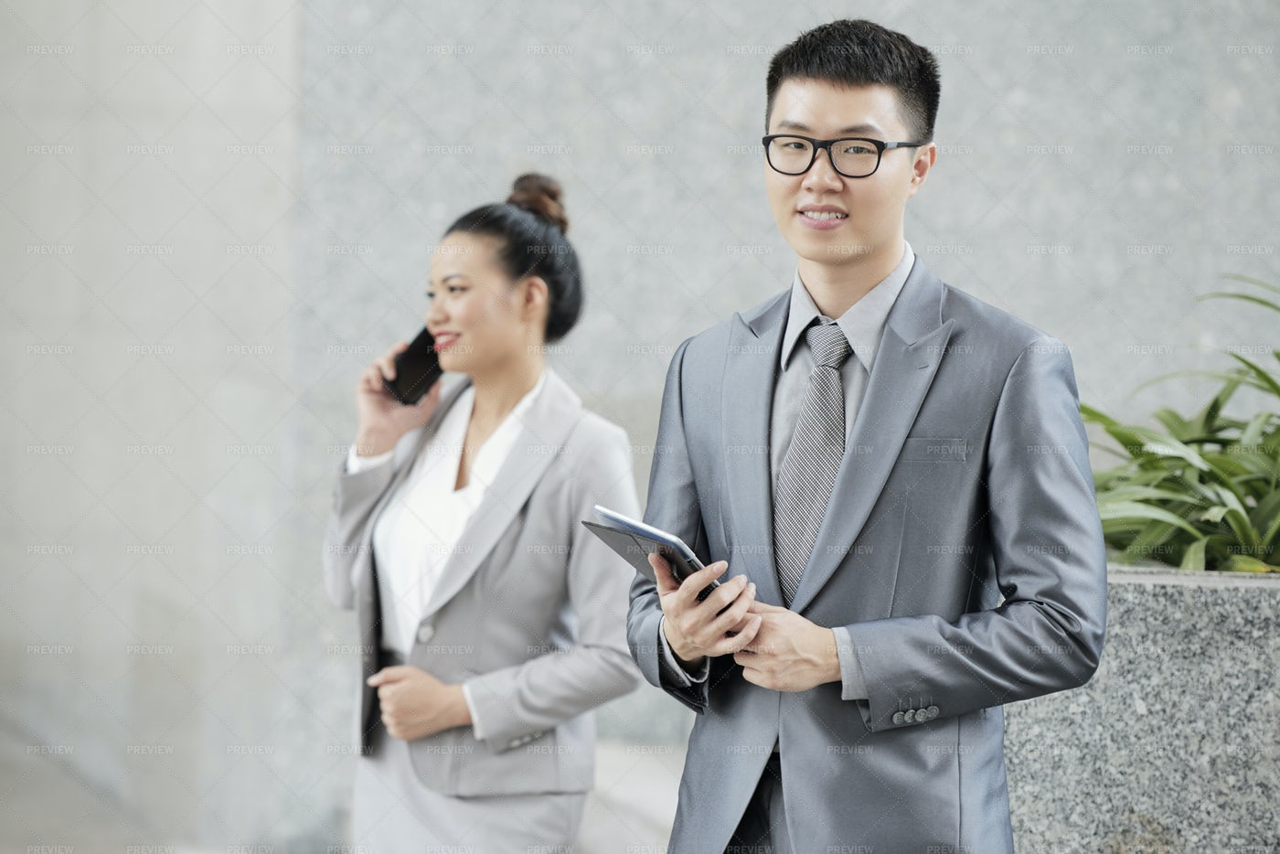 Cheerful Businessman: Stock Photos