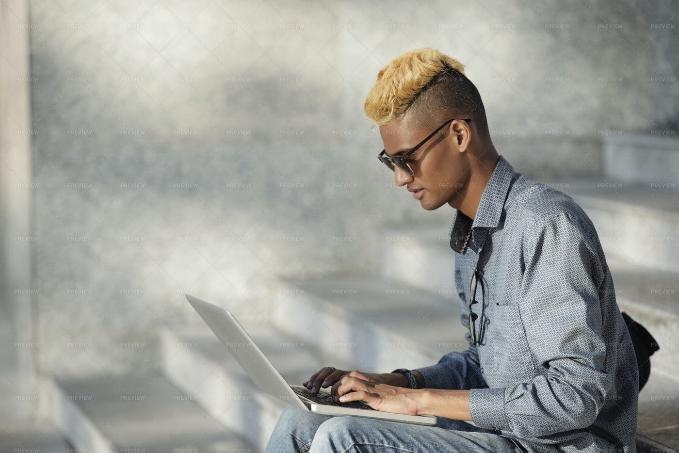 Man Busy With Work: Stock Photos