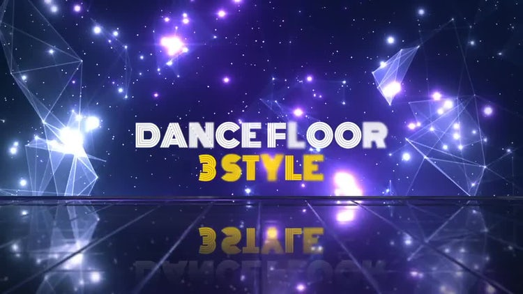 Dance Floor V.1: Stock Motion Graphics