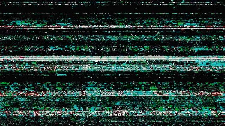 TV Noise Background: Motion Graphics