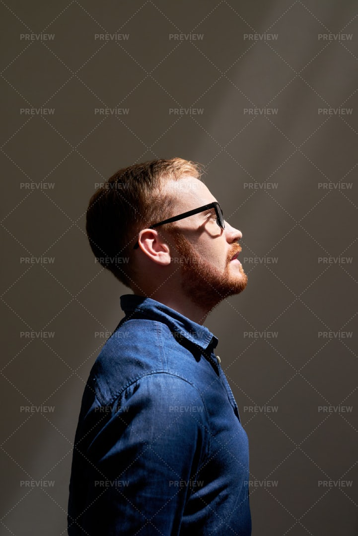 Handsome Red Haired Man: Stock Photos