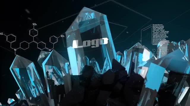 Crystal Logo Opener: After Effects Templates