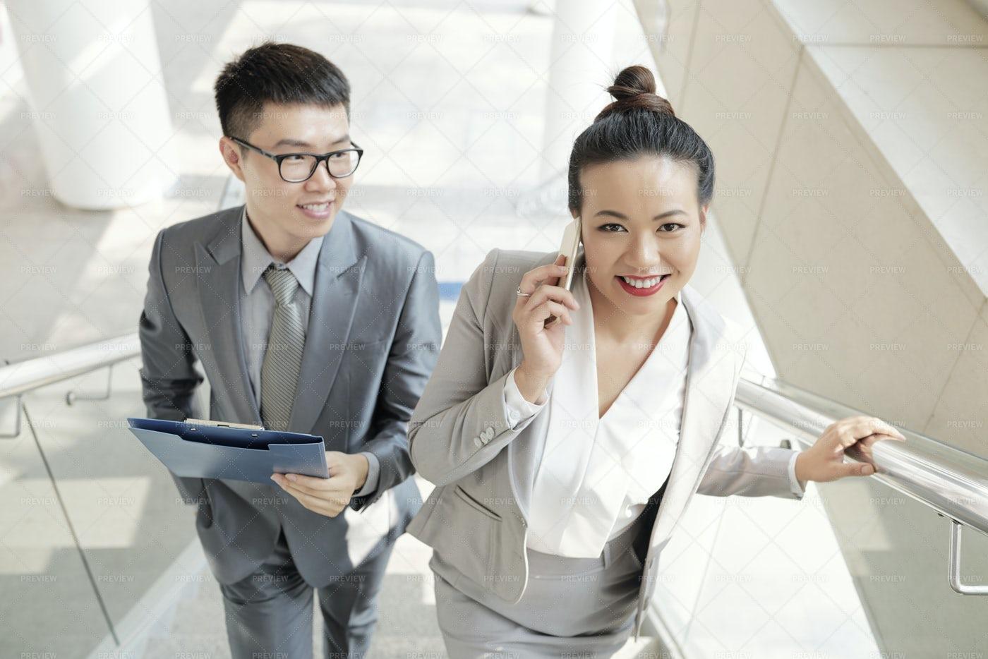 Positive Colleagues: Stock Photos