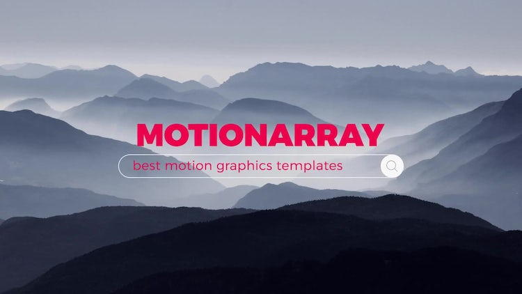 Web Search Reveals: Motion Graphics Templates