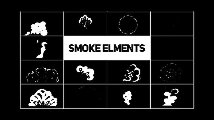 Smoke FX Elements: Motion Graphics