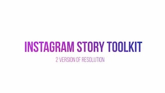Instagram Story Toolkit: After Effects Templates