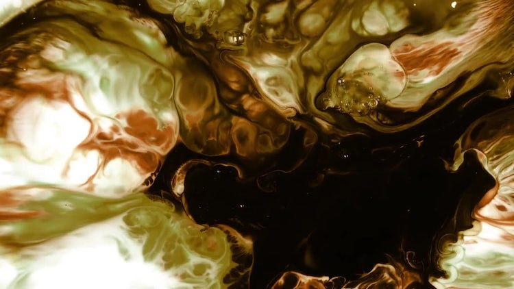 Abstract Colorful Ink 7: Stock Video