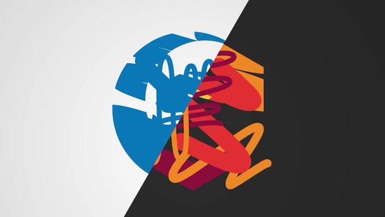 Scribbled Logo: Premiere Pro Templates