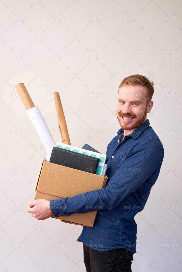 Starting New Job: Stock Photos