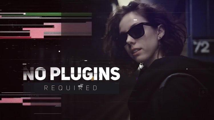 Digital Glitch Opener: Premiere Pro Templates