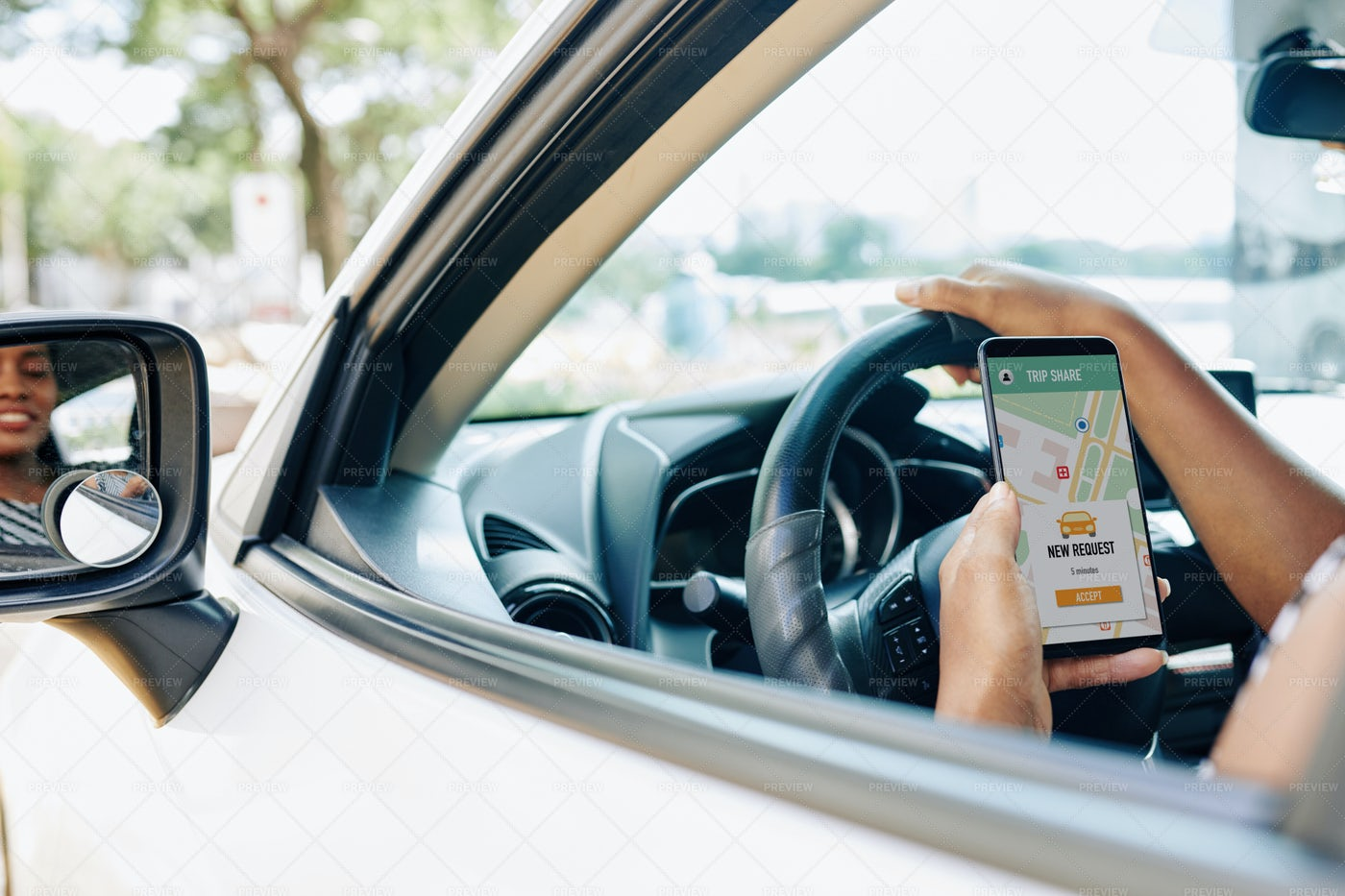 Car Sharing In The City: Stock Photos