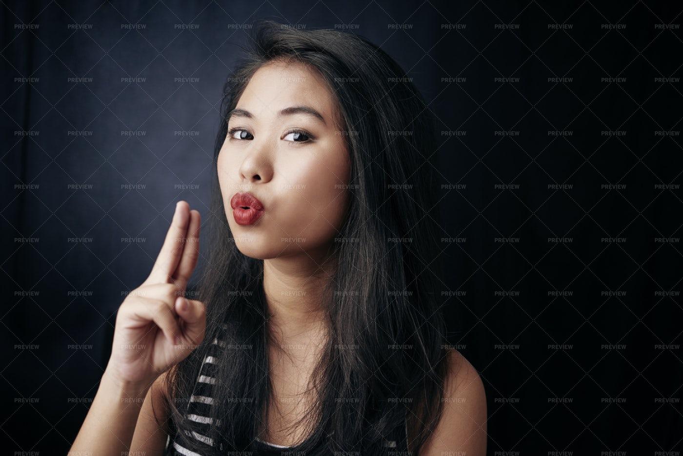Confident Asian Woman: Stock Photos