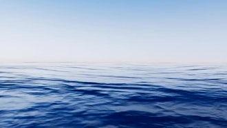 Sea Waves Loop: Motion Graphics