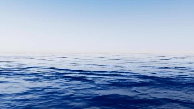 Sea Waves Loop: Stock Motion Graphics