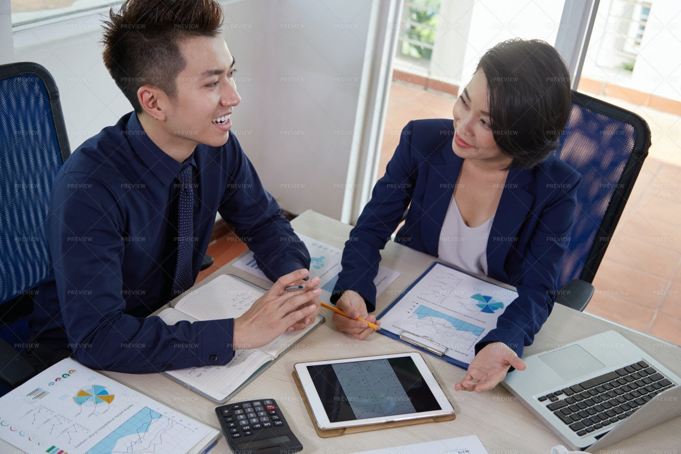 Business People Developing Business: Stock Photos