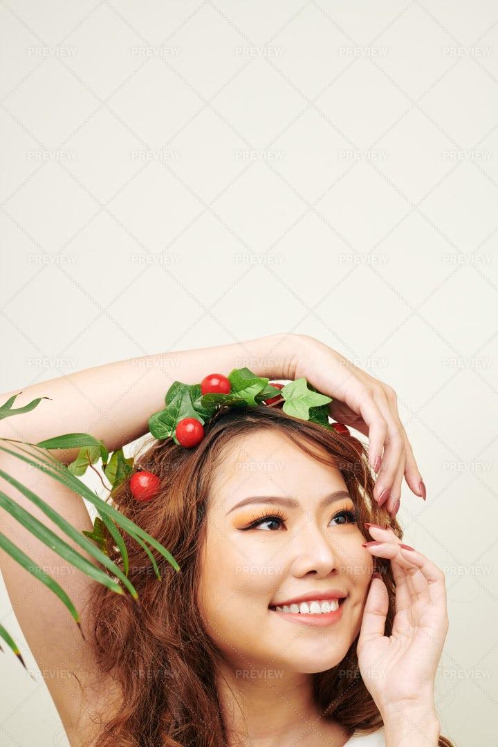 Beautiful Fashion Portrait: Stock Photos