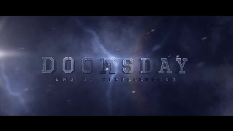 Doomsday Titles: After Effects Templates