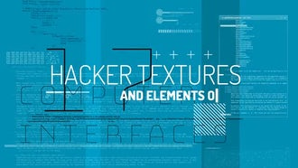 Hacker Textures & Elements: Motion Graphics