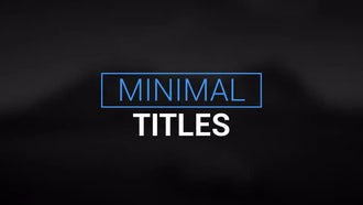 Motion Titles: After Effects Templates
