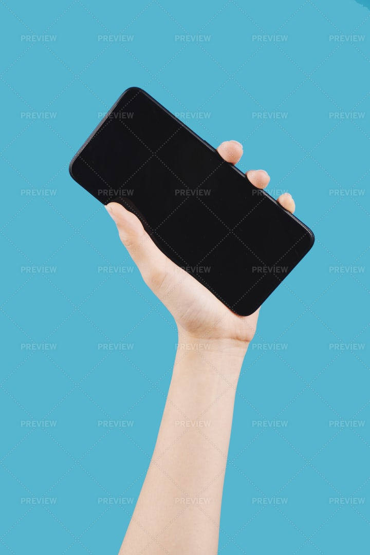 Hand With Smartphone: Stock Photos