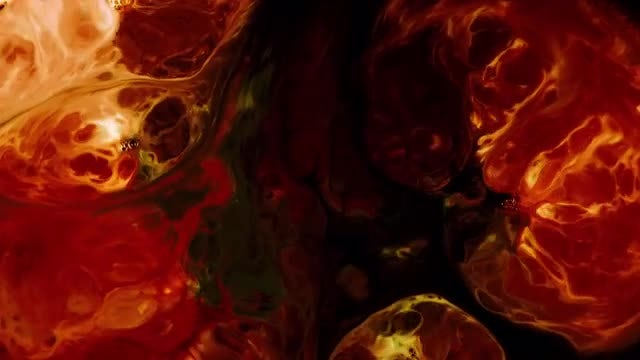 Abstract Colorful Ink 9: Stock Video