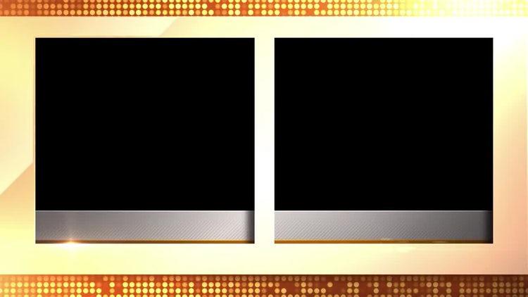 Glitz Double Framing Device: Stock Motion Graphics