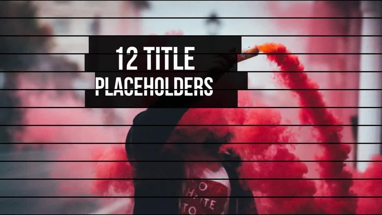 Epic Strips Slideshow: After Effects Templates