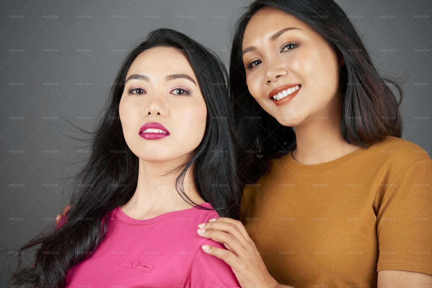Asian Women Portrait: Stock Photos