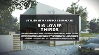 BIG Lower Thirds II: After Effects Templates