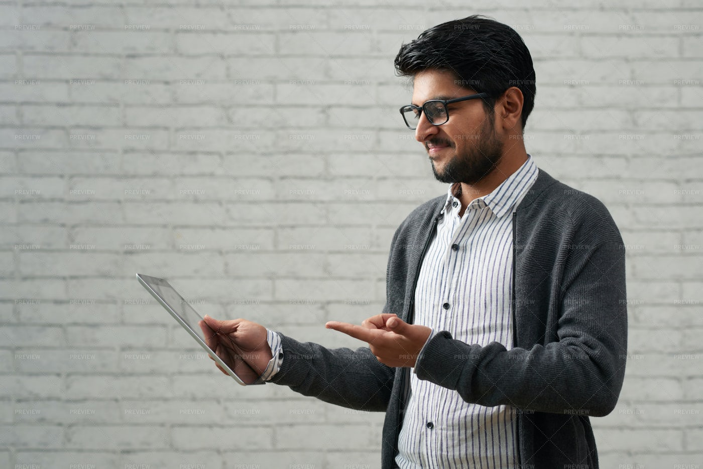 Software Developer With Tablet Computer: Stock Photos