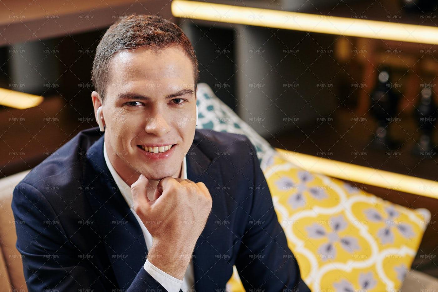 Young Smiling Businessman: Stock Photos
